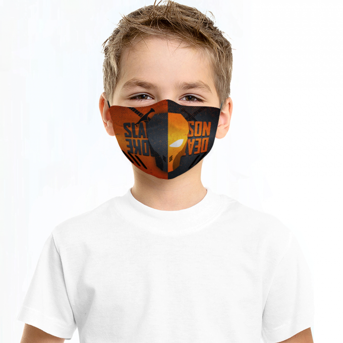 Deathstroke Face Mask + Filters PM2.5