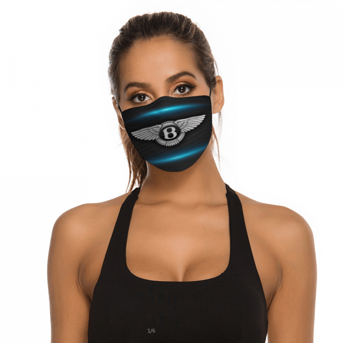 Bentley Face Mask + Filters PM2.5