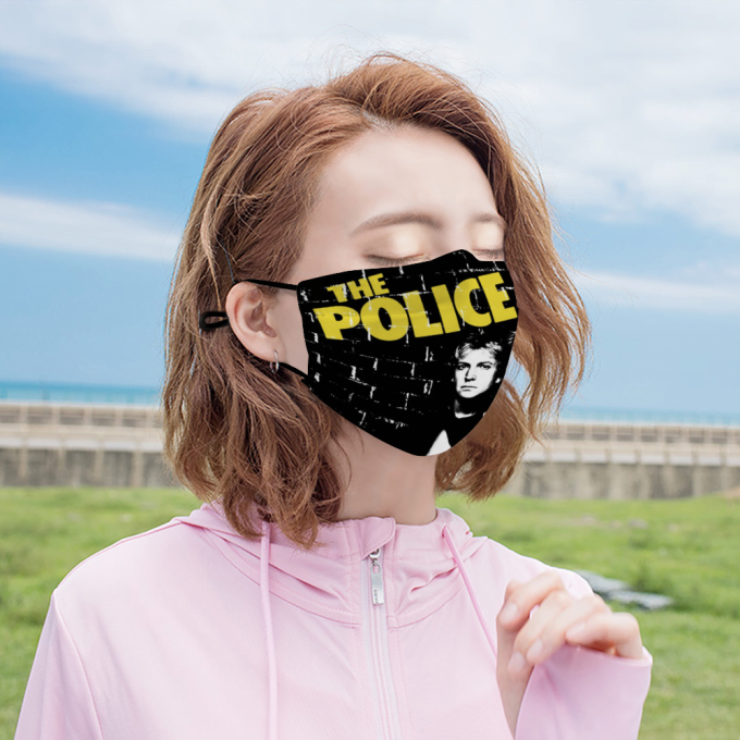 The Police Face Mask + Filters PM2.5