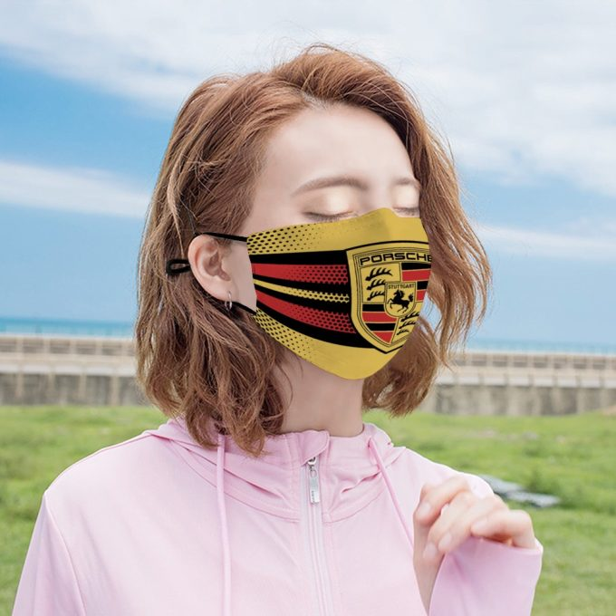 Porshce Face Mask + Filters PM2.5