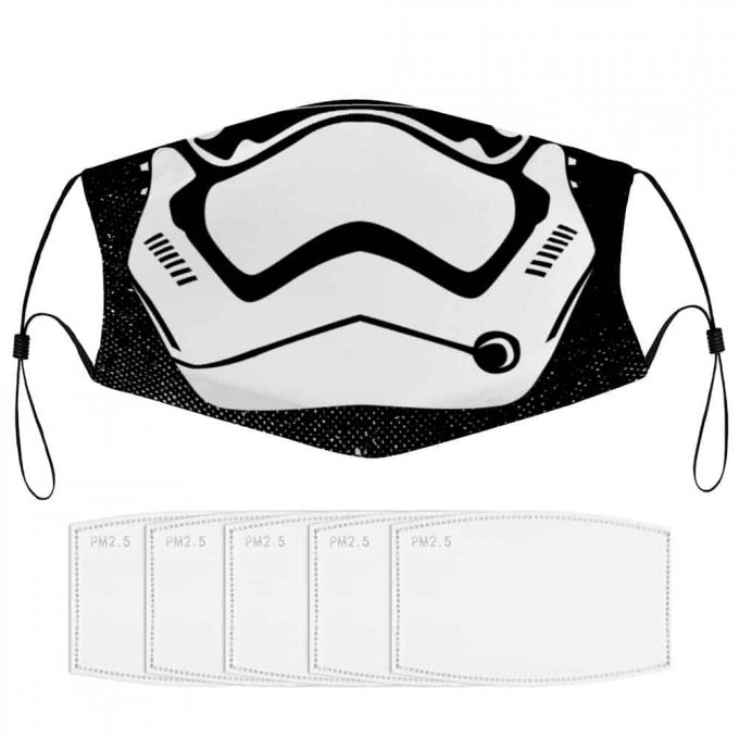 Stormtrooper Star Wars Face Mask + Filters PM2.5