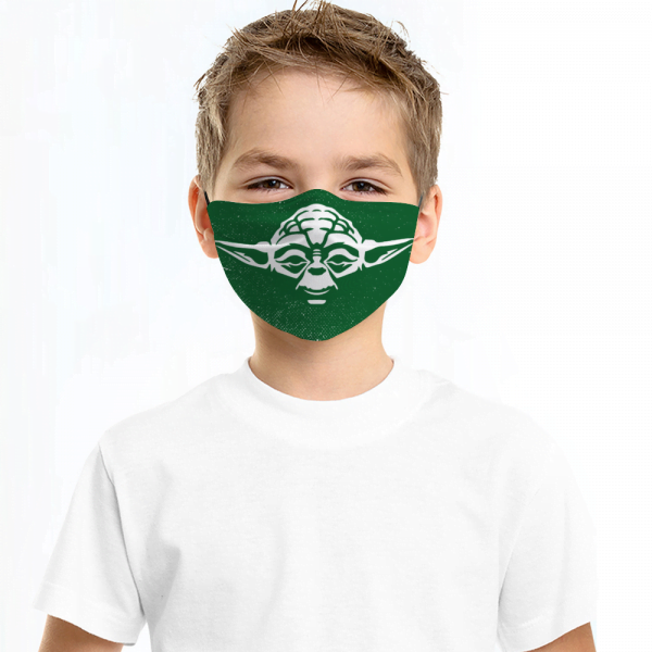Yoda Star Wars Face Mask + Filters PM2.5