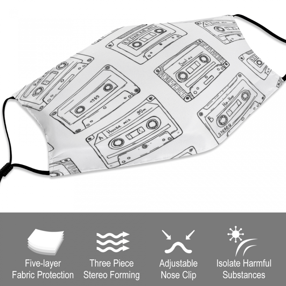 Cassette Face Mask + Filters PM2.5