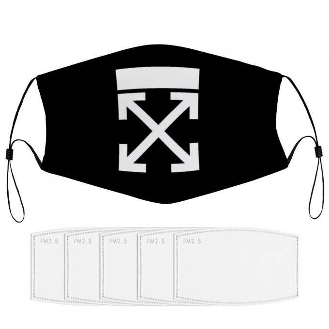Off-White Face Mask + Filters PM2.5