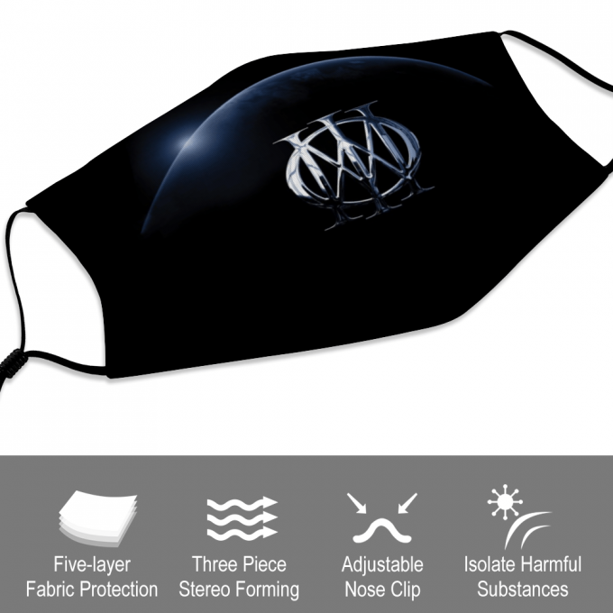 Dream Theater Face Mask + Filters PM2.5