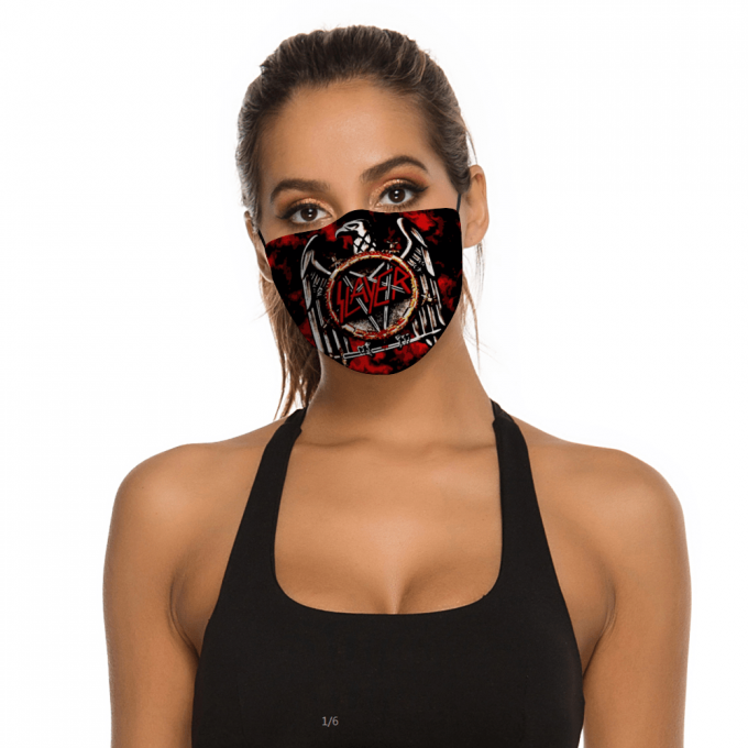 Slayer Face Mask + Filters PM2.5