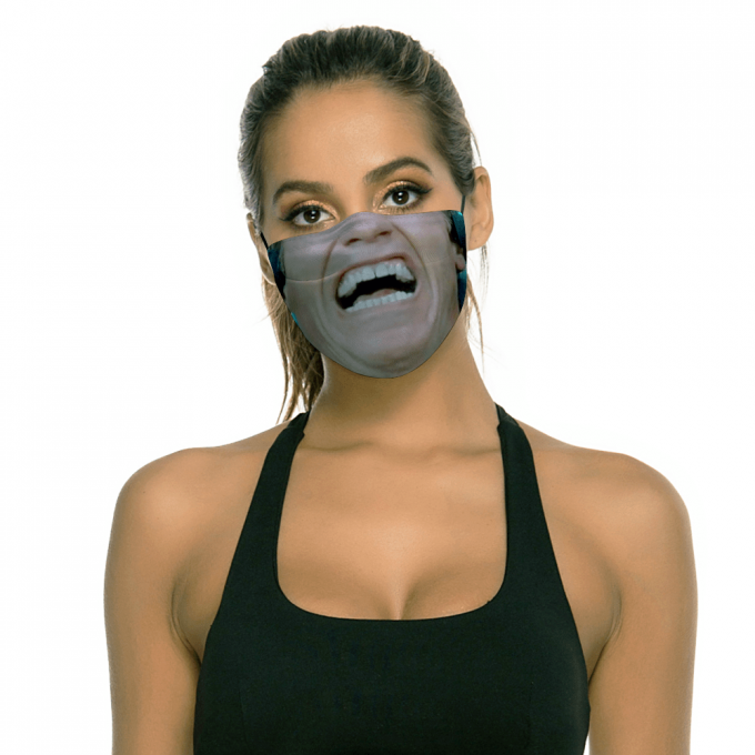 Total Recall Face Mask + Filters PM2.5