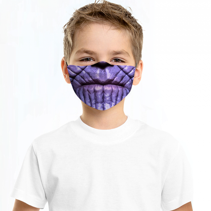 Thanos Face Mask + Filters PM2.5