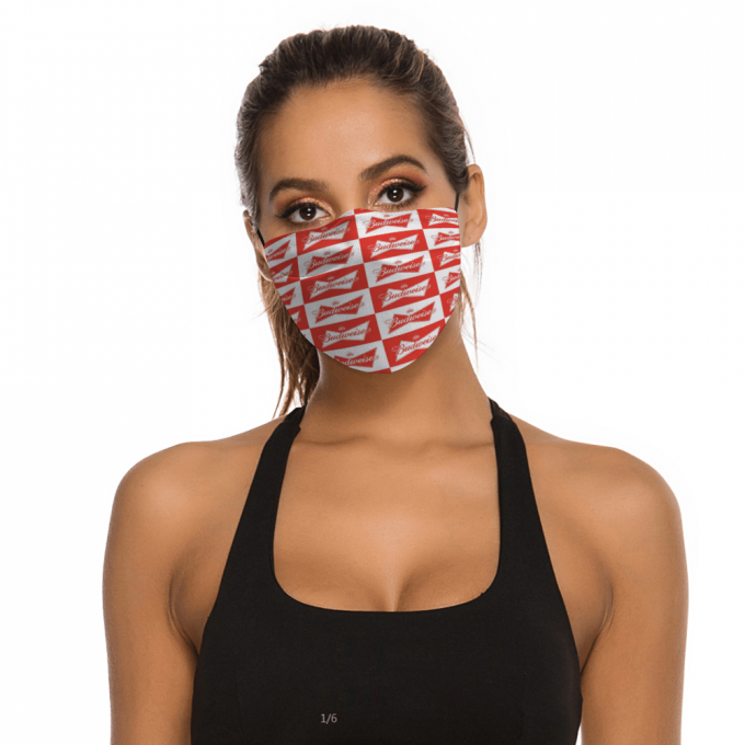 Budweiser Face Mask + Filters PM2.5