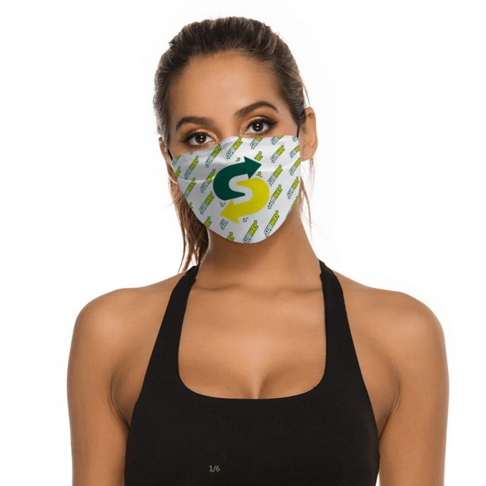 Subway Face Mask + Filters PM2.5