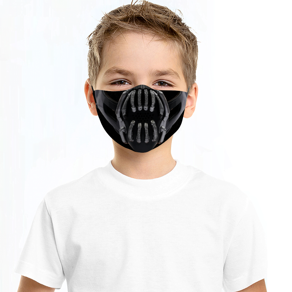 Bane Batman Face Mask + Filters PM2.5