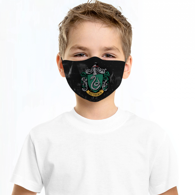 Slytherin Harry Potter Face Mask + Filters PM2.5