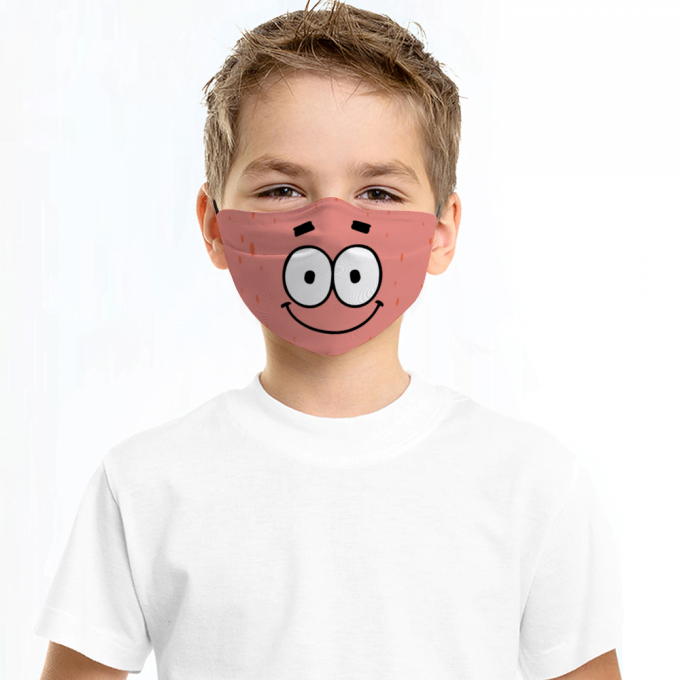 Patrick Star Face Mask + Filters PM2.5