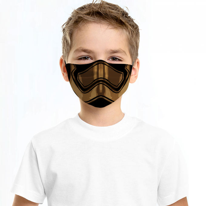 Captain Phasma Star Wars Face Mask + Filters PM2.5
