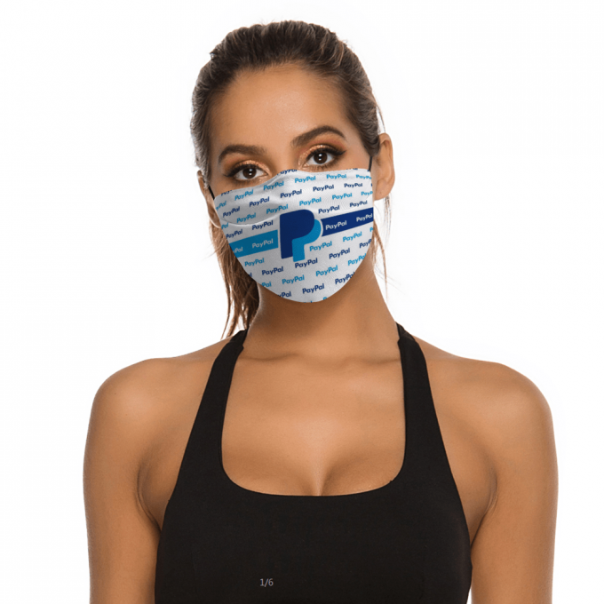 Paypal Face Mask + Filters PM2.5
