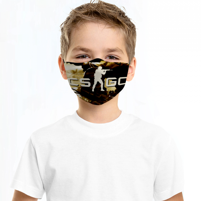 Counter Strike Face Mask + Filters PM2.5