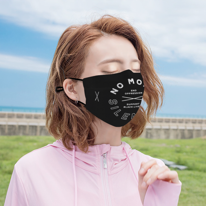 No More Silence Face Mask + Filters PM2.5
