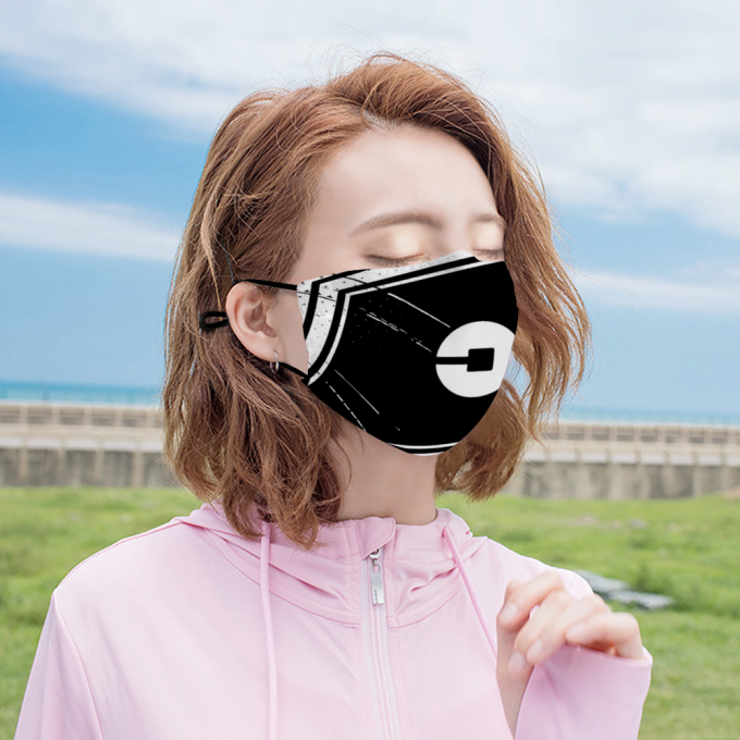 Uber Face Mask + Filters PM2.5