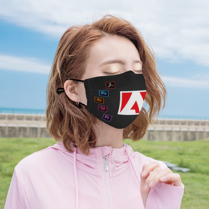 Adobe Face Mask + Filters PM2.5