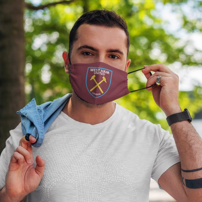 West Ham United Face Mask + Filters PM2.5