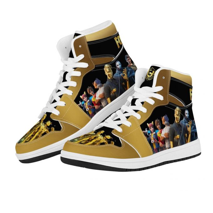 Fortnite High Top Leather Sneakers