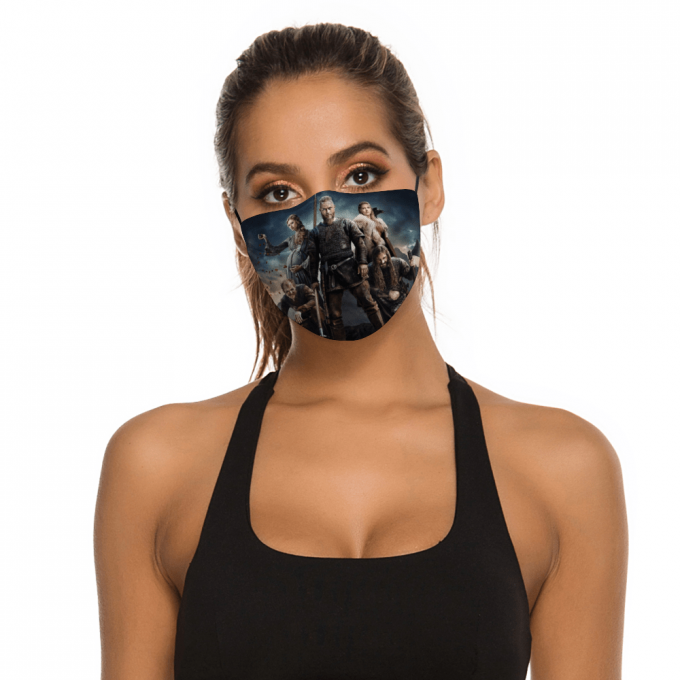 Vikings Series Face Mask + Filters PM2.5