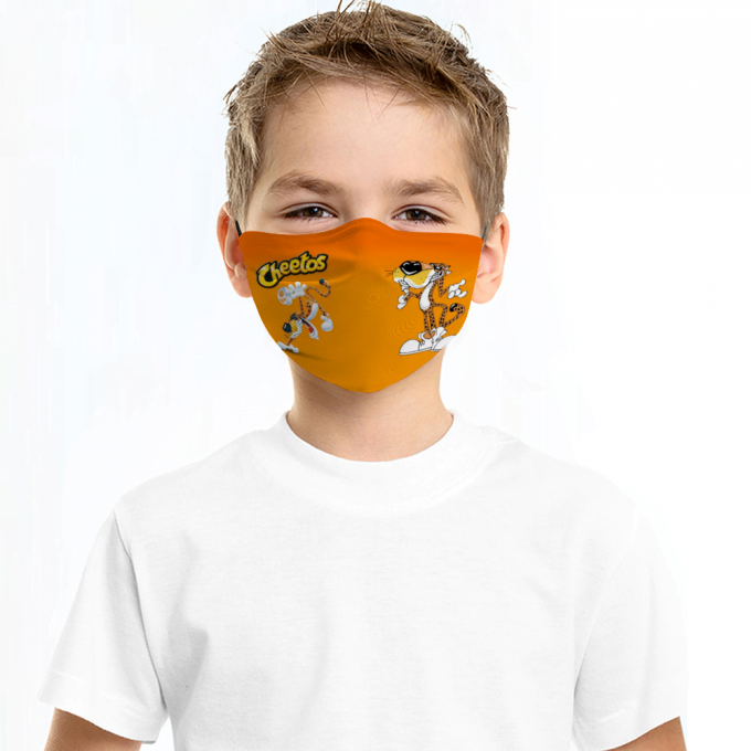 Cheetos Face Mask + Filters PM2.5