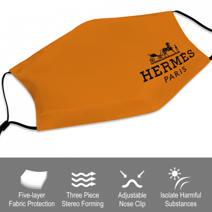 Hermes Face Mask + Filters PM2.5