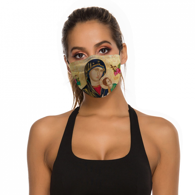 Our Lady of Perpetual Help Face Mask + Filters PM2.5