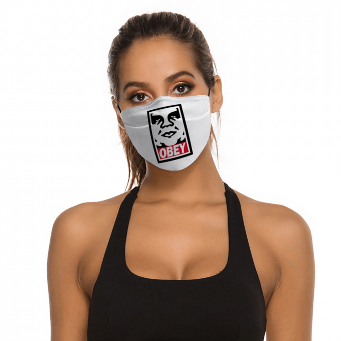 Obey Face Mask + Filters PM2.5