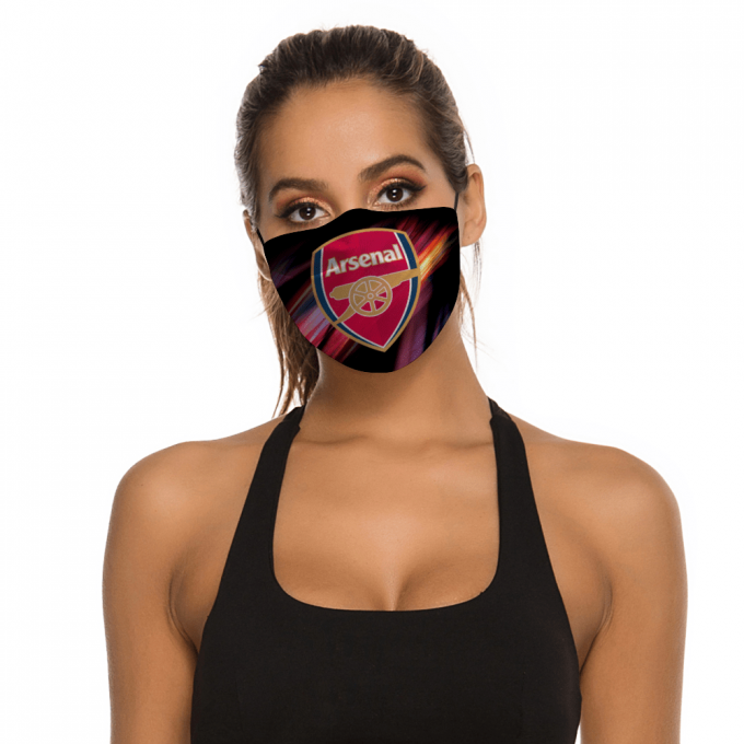 Arsenal Adidas Face Mask + Filters PM2.5 (Copy)