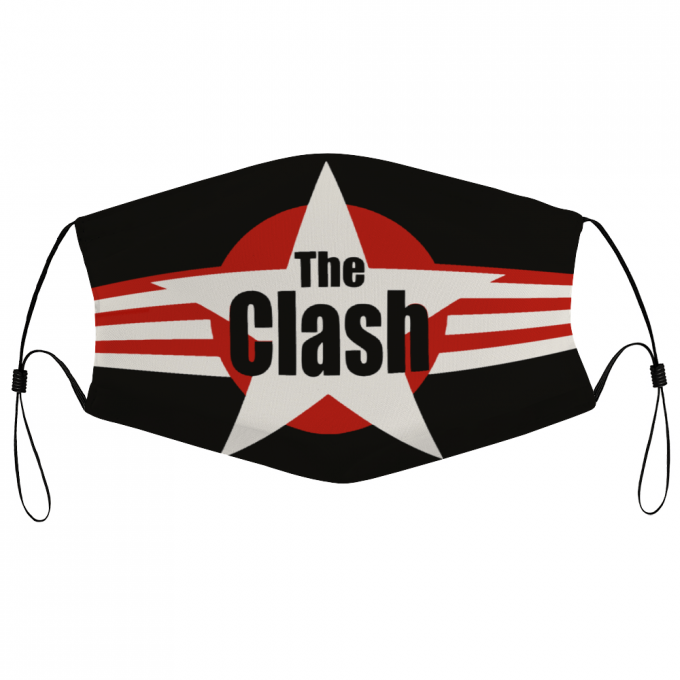 The Clash Face Mask + Filters PM2.5