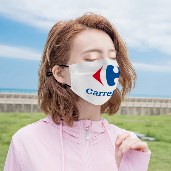 Carrefour Face Mask + Filters PM2.5