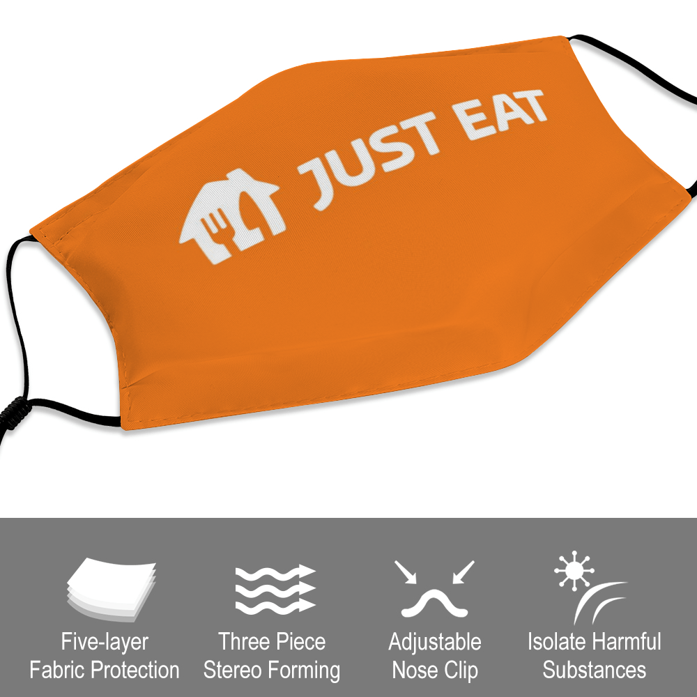 Just Eat Face Mask + Filters PM2.5