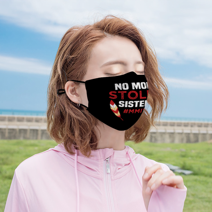 No More Stolen Sisters Face Mask + Filters PM2.5