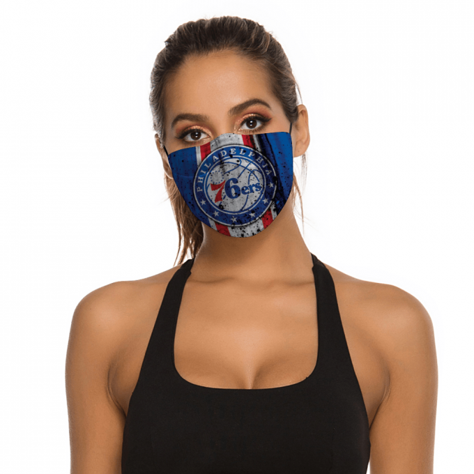 76ers Face Mask + Filters PM2.5