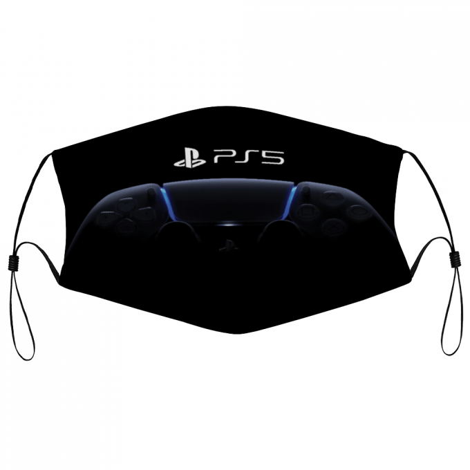PS5 Face Mask + Filters PM2.5
