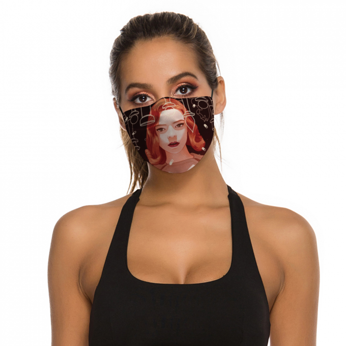 The Queen's Gambit Face Mask + Filters PM2.5
