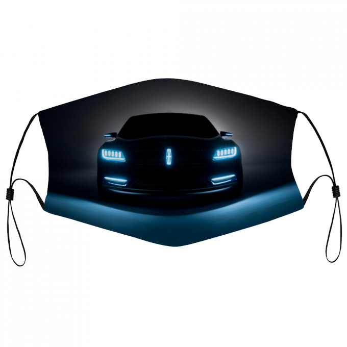 Lincoln Luxury Cars Face Mask – Premium Stretch To Fit Stmf2